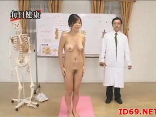 Japanese Girl With Hairy Cunt Follows Docs Orders