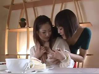2 Busty Asian Girls Kissing Passionately One Of..