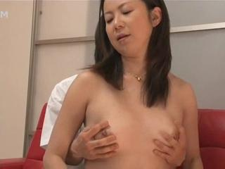 Asian Mom Old and Young Small Tits