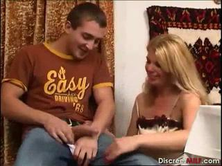 Mature Mom and Boy Fuck