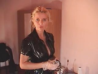 German Latex Mature MILF