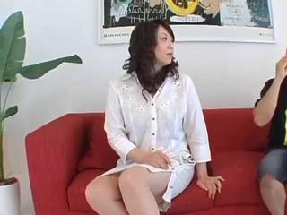 Asian Mature Nurse Uniform