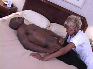 Blowjob Ebony MILF Nurse Uniform