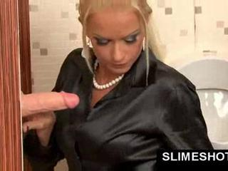 European Gloryhole MILF