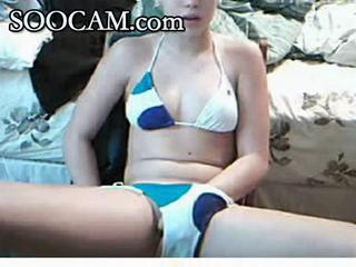 Bikini Masturbating Teen Webcam