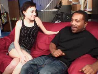 Babysitter Interracial MILF