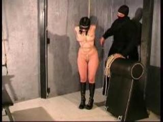 Slave Cat hard bondage training Part 1