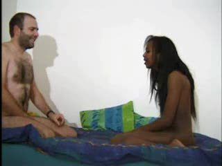 Amateur Ebony Interracial Teen