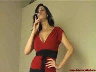 Smoking Milf with young man