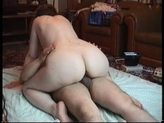 Wife With Nice Ass Rides Her Lucky Husand