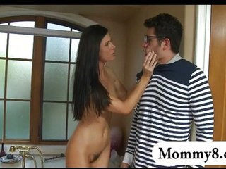 Long hair MILF Mom Old and Young