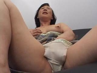 Asian Masturbating Mom Panty