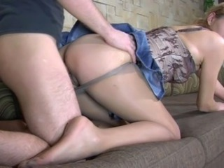 Doggystyle MILF Pantyhose