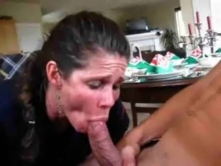 Blowjob CFNM Maid Mature