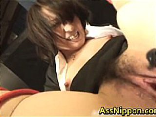 Asian Dildo Hairy MILF
