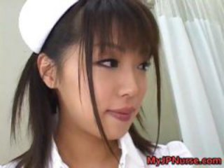 Asian Babe Cute Japanese Nurse Teen Uniform