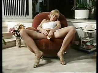 Sexy nurse taking it doggy style in vintage scene tubes