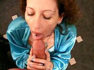 Cum dripping on her face after great milf sex tubes
