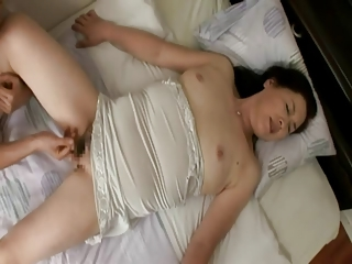 Fisting Hairy Japanese Mature Sleeping