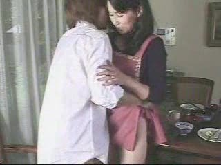 Japanese Mom And Sons friend 9