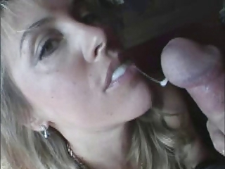 Homemade MILF Pov Swallow