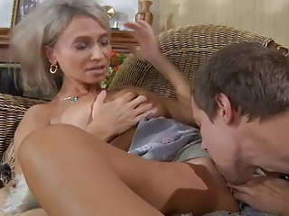 Licking MILF Mom Old and Young Russian