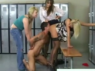 Cfnm fetish femdom bitch rides victims cock