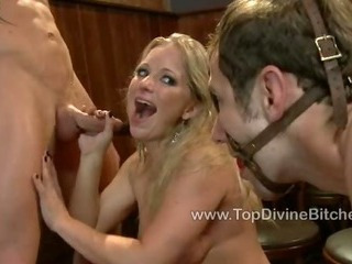 Kade gets his mouth filled with feet