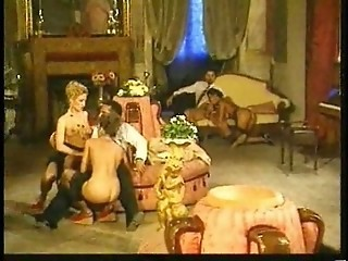 Italian Orgy - Passionate Girls Suck And Fuck Best !