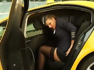 Fucking The Flight Naughty Stewardess