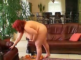 Mature Bbw -blanka Get Fucking On The Sofa