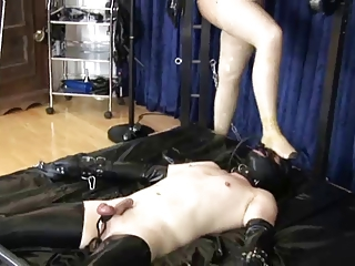 Latex slave rubberized 1