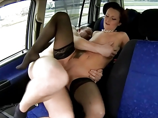 Hooker fucked just about a car