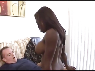 Babe Big Tits Ebony Interracial
