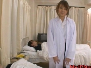 Arisa Ebihara amazing Asian nurse