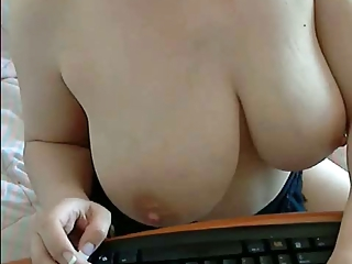 Tremenda italiana por webcam