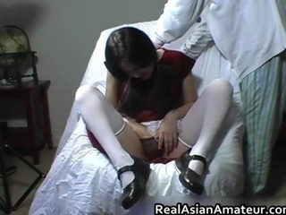 Amateur Asian Stockings Teen