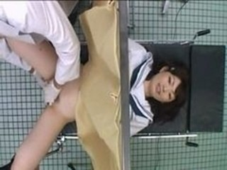 Asian Doctor  Teen Uniform Voyeur