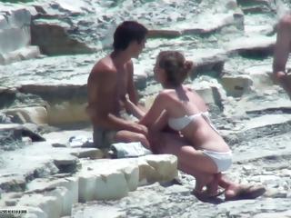 Beach Outdoor Public Teen Voyeur