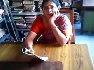 Amateur Indian Mature Office