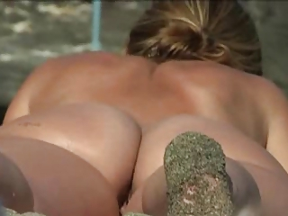 Voyeur Cam Caught Real Beach Nudist by TROC