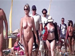 Beach Mature Nudist Outdoor Public
