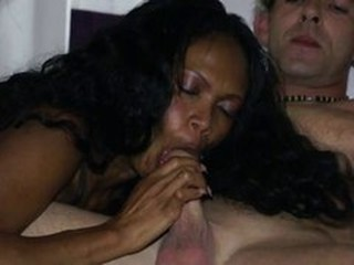 Blowjob Ebony Interracial Mature