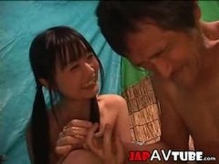 Asian Daddy Daughter Japanese Old and Young Skinny Teen