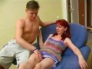 Amateur MILF Mom Old and Young Redhead Russian