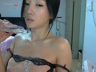 Incrível Asiático Koreana A solo Adolescente Webcam