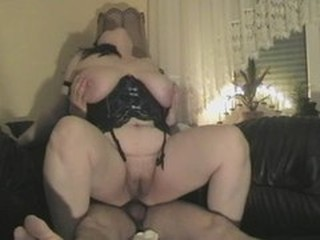 Amateur Anal BBW Corset Homemade Riding SaggyTits Wife