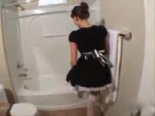 Bathroom Maid Teen Uniform
