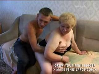 Old granny fucks part1