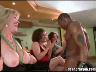 CFNM Interracial MILF Party